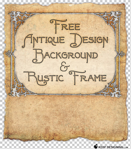 designing backgrounds in photoshop. Antique Design Background and