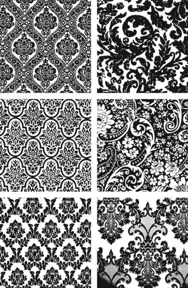 wallpaper vintage pattern. wallpaper for your home is