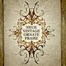 Free Vector Frame Vintage Ornate