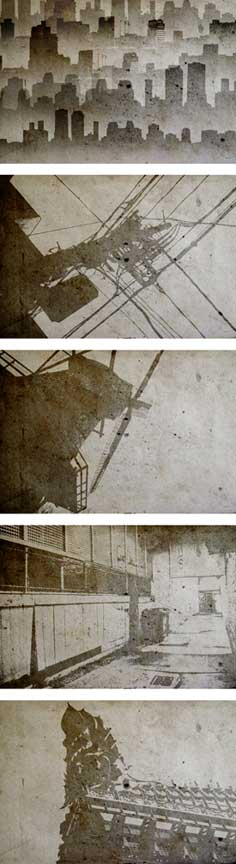 grunge-city-collage-background-design-elements-examples