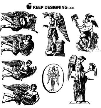 vintage-winged-angel-vectors-keepdesigning-example