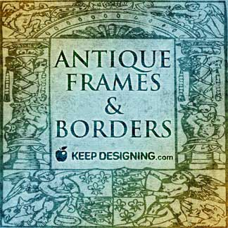 Vector Art | Free Clip Art | Antique Frames and Borders Vectors