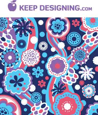floral-pattern-wallpaper-vector-keepdesigning-example