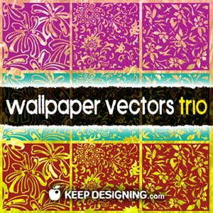 floral_vintage_wallpaper_pattern_vectors