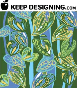 jungle-plant-wallpaper-pattern-vector-keepdesigning-com-example