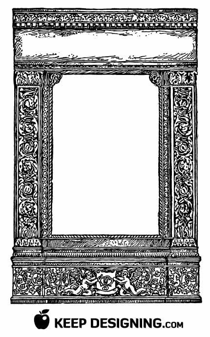 clip art borders frames. FREE VECTOR ART BORDER
