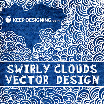 Keep Designingswirly-clouds-vector-design-free